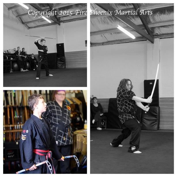 Weapons Training | Fire Phoenix Martial Arts